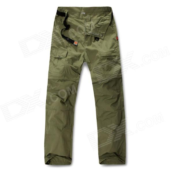 NatureHike K01-M Detachable UV Protection Quick Dry Men's Pants - Army Green (Size XL) naturehike k01 m detachable uv protection quick dry men s pants army green size l