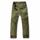 NatureHike K01-M Detachable UV Protection Quick Dry Men's Pants - Army Green (Size XL)