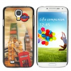 3D Big Ben Britain Street View Pattern Protective Plastic Back Case for Samsung Galaxy S4 / i9500