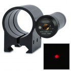 Aluminum Alloy Red Laser Scope Sight w/ Flashlight Holder - Black (3 x AG13)