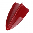 SINCAI Shark Fin Style Plastic Decorative Car Antenna for BMW - Red