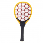 JIAZHIYING JZ-01 Rechargeable Electric Mosquito Swatter w/ Lighting - Black + Orange + Red