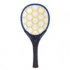 JIAZHIYING JZ-01 Rechargeable Electric Mosquito Swatter w/ Lighting - Black + Blue + Yellow