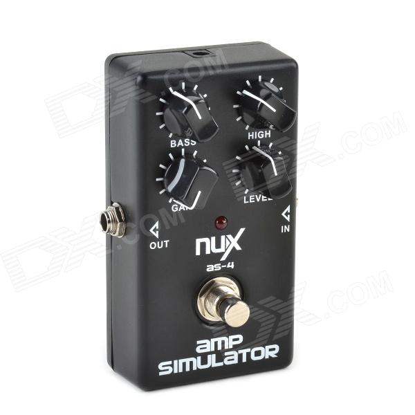 Musedo NUX AS-4 High Gain Distortion Effect Pedal for Guitar / Electric Guitar - Black foo fighters foo fighters wasting light 2 lp