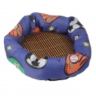 Weiches PP Cotton Cat Dog Pet Nest Bed With Isomatte (Größe S)
