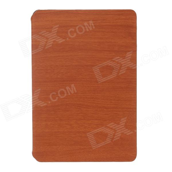 Protective PU Leather Case Stand for Ipad MINI - Brown + Black