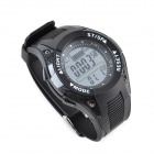 SUNROAD FR702A 3ATM Waterproof Digital Sports  Fishing Barometer Watch - Black (1 x CR2032)