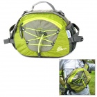 OQSPORT F4 Multifunction Outdoor Nylon Waist / Shoulder Bag - Green + Grey