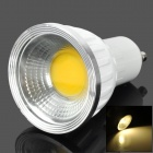 GU10 3W 3500K 150lm 3-LED Warm White Light Bulb Lamp - Weiß + Silber (85 ~ 265V)
