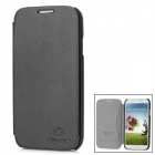 NILLKIN Flip-Open Leather Case w/ Screen Guard Set for Samsung Galaxy S4 / i9500 - Black