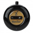 Navior Intelligent Two-Way Bluetooth Anti-Lost Alarm IC Locator - Black (1 x CR2032)
