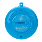 Navior Intelligent Two-Way Bluetooth Anti-Lost Alarm IC Locator - Blue (1 x CR2032)
