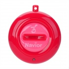 Navior Intelligent Two-Way Bluetooth Anti-Lost Alarm IC Locator - Red (1 x CR2032)