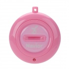 Navior Intelligent Two-Way Bluetooth Anti-Lost Alarm IC Locator - Pink (1 x CR2032)