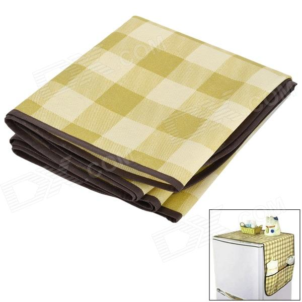 S7026 Multifunction Refrigerator Dust Cover Storage Bag - Light Green + Beige Chula Vista Продам товары