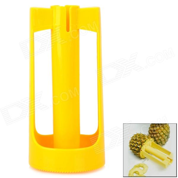 Convenient Kitchen Plastic Pineapple Peeler - Yellow green convenient manual apple peeler