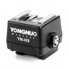 YONGNUO YN-H3  Sony Flash Hot Shoe Adapter - Black