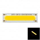 3810-0502 DIY 2W 3500K 180lm Warmweiß COB LED Strip - Gelb + Silber (DC 15 ~ 17V)