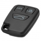 AML030760 Universal Replacement 3-Button Remote Key Shell Case for Volvo - Black