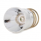 UltraFire Aluminum LED Reflector for CREE XR-C B4 Flashlight - Silver + Golden