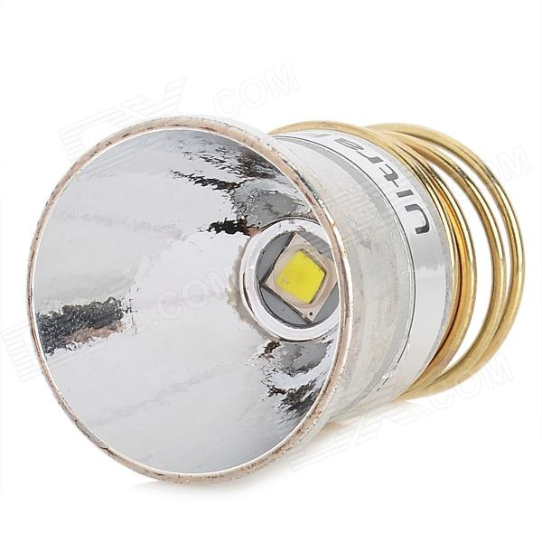 UltraFire Aluminum LED Reflector for CREE XM-L2 T6 3-Mode Flashlight - Silver + Golden