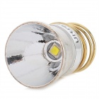 UItraFire Aluminum LED Reflector for CREE XM-L2 T6 3-Mode Flashlight - Silver + Golden