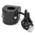 YOUYOU DIY Motorcycle Cigarette Lighter Charger Power Socket - Black (12~24V)