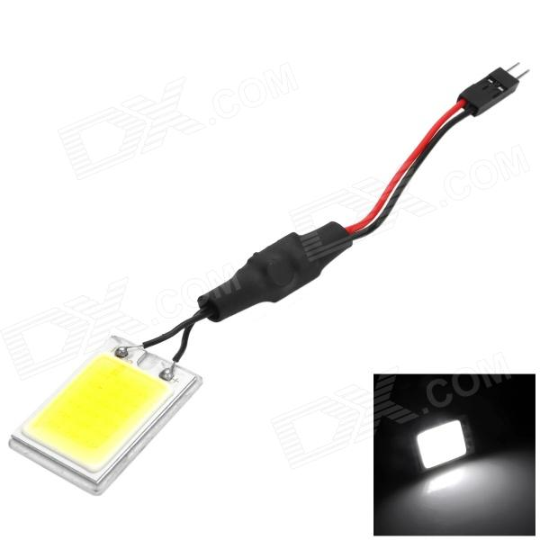 T10 / BA9S / Festoon 90lm 2.2W 18-LED White Light Car lâmpada de leitura / lâmpada Interior - (12 ~ 24V)
