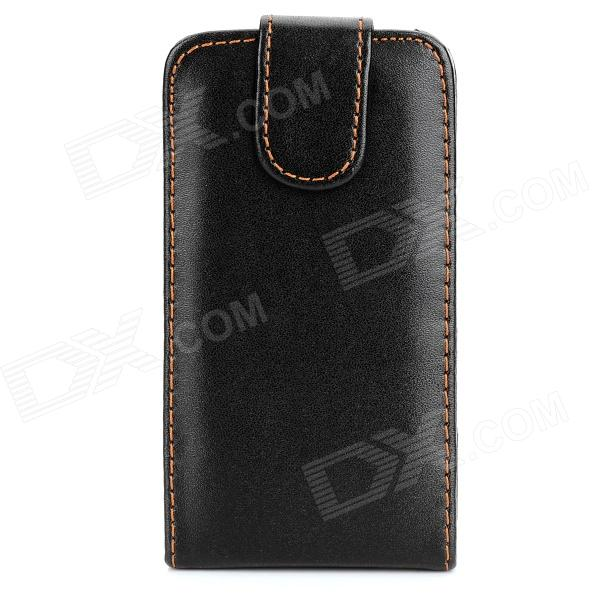 Protective Flip-Open PU Leather Case for Iphone 3g - Black usams protective pu leather flip open case for iphone 5c blue