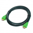 HDMI V1.3a HDMI Male to Male Extension Cable for PS3 + XBOX360 - Green (180 CM)