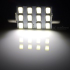 Festoon 42mm 6W 540lm 12-SMD 5630 LED weiß Licht Auto Leselampe / License Plate Light - (12V)