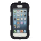 Stylish Protective Rainproof Case w/ Clip For iphone 5 - Black