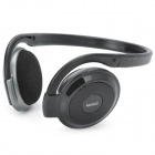 SH-S2 Stereo Headset Headphone w/ FM + TF Card Slot - Black + Silver