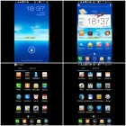 "Coolpad 7295+ MTK6589 Quad-Core Android 4.1.2 WCDMA Bar Phone w/ 5.0"", Wi-Fi and GPS - Black + Blue"