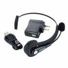 Bluetooth V3.0 + EDR Handsfree Headset w / Mikrofon + Music Control för PS3 - Svart