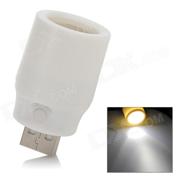 USB Powered 1W 78lm 7000K luz branca lâmpada w / Switch - Branco