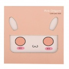 Cute Rabbit Folding Paper Note Pad - Multi-color (84-page)