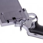 Pistol Style Protective Plastic Case for Iphone 4 / 4S - Grey + Black