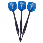 Cool Laser Style Tungsten-plated Iron Hard Darts - Blue + Silver (3 PCS)