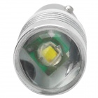 BA9S 7W 280lm LED Branco Car License Direcção Placa Clearance Luz w / Cree XP-E R3 - (2 PCS / 12V)