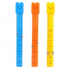 FKJ-01 Cartoon Sealing Clip Set - Blau + Gelb + Light Rot (3 PCS)