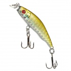 Trulinoya Fish Style ABS Fishing Bait / Lure - Golden