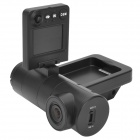 "V3000GS 1.5"" TFT 1080p 3.0 MP 1/4 CMOS 140' Wide Angle Car DVR w/ GPS / HDMI / TF - Black (12~24V)"