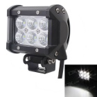 MZ 18W 1260lm 6500K White Flood Beam 60 Degree Working Light Bar w/ 6-Cree XB-D LED - Black (9~32V)