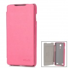 KALAIDENG Protective PU Leather Case for ZTE Nubia Z5 - Deep Pink