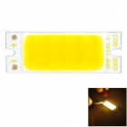 7W 680lm 3500K Warm White Light COB LED Strip - Yellow + White (DC9-11V)