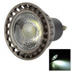 GU10 3W 240lm 6000K White Light COB LED-Lampe (AC85-265V)
