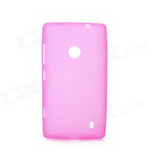 Protective TPU Case for Nokia 520 - Deep Pink