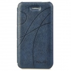 KALAIDENG Protective PU Leather Back Case Cover for Iphone 4 / 4S - Sapphire