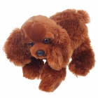Cute Cartoon Dog Style Plush Toy - Brown